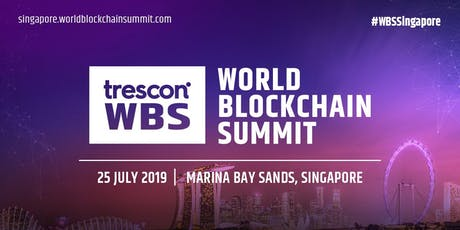 World Blockchain Summit-Singapore 2019 tickets