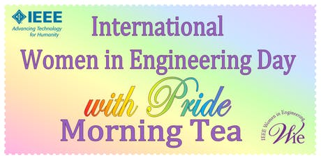 International Women in Engineering Day with Pride Morning Tea tickets