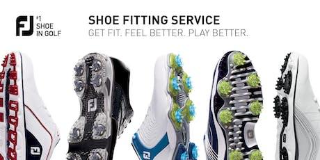 FJ Shoe Fitting Day - Headland Golf Club- 15 August 10:00am - 2:00pm tickets