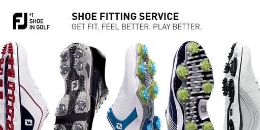 FJ Shoe Fitting Day - Headland Golf Club- 15 August 10:00am - 2:00pm