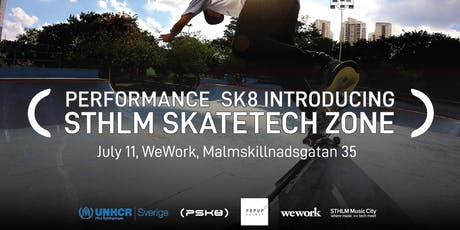 Performance Sk8 introducing - Sthlm Skatetech Zone tickets