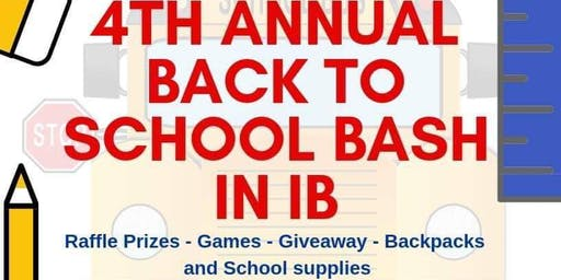 4th Annual Back To School In IB