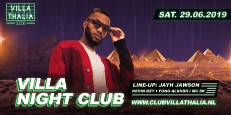 Villa Night Club: Jayh Jawson 29-6 tickets