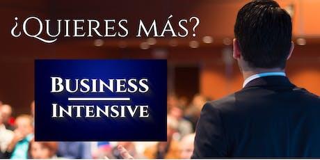 Business Intensive Madrid - #BIM19 entradas