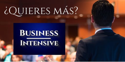 Business Intensive Madrid - #BIM19