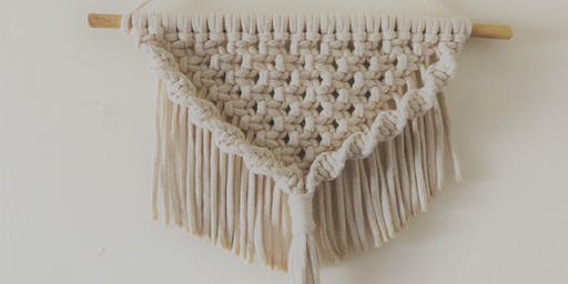 Macrame Wall Hanging Workshop at Artfix in London