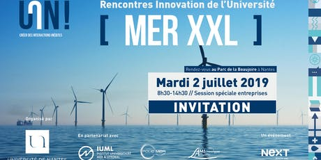 "Rencontres Innovation de l'Université de Nantes ""Mer XXL"" billets"