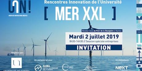 "Rencontres Innovation de l'Université de Nantes ""Mer XXL"" billets"