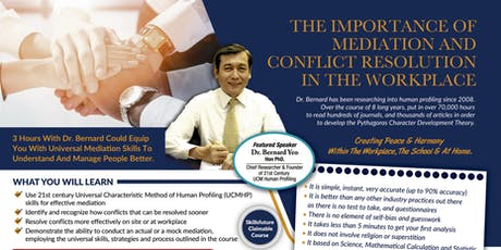*[FREE Mediation Seminar by Dr Bernard Yeo]* tickets