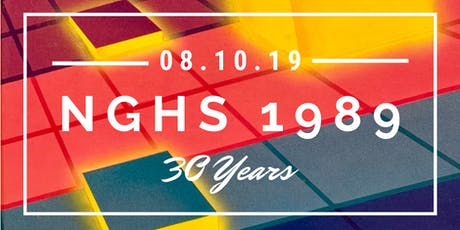 Northgate High School -- Class of 1989 -- 30 Year Reunion tickets