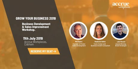 Grow Your Business 2019 tickets