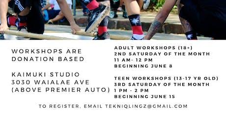 Tekniqlingz Teen Dance Crew Workshops tickets