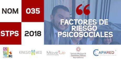 NOM-035-STPS-2018 Factores de Riesgo Psicosociales tickets