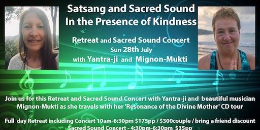 Satsang and Sacred Sound with Yantra-ji and Mignon Mukti