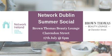 Network Ireland Dublin - Summer Social @ Brown Thomas Beauty Lounge tickets