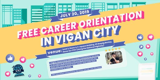 FREE CAREER ORIENTATION IN VIGAN CITY! #StudyAbroadPH