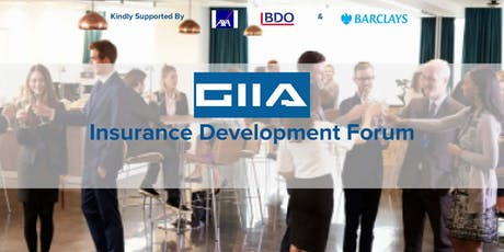 GIIA Insurance Development Forum Blockchain Seminar tickets