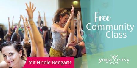 YogaEasy Community Class – mit Nicole Bongartz Tickets