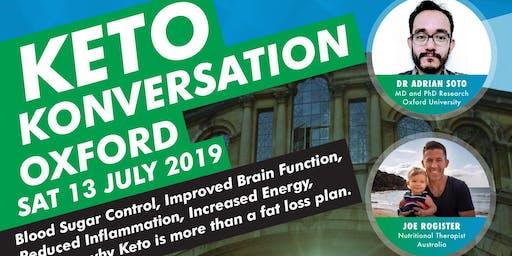 Keto Konversation - Oxford 2019