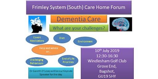 Frimley System South Care HomeForum