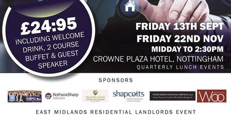 Residential Landlord Lunch  tickets