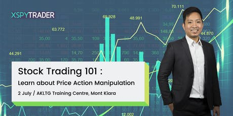 """Stock Trading 101: """"Learn About PRICE ACTION MANIPULATION"""" tickets"""