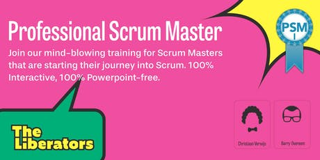 Professional Scrum Master tickets
