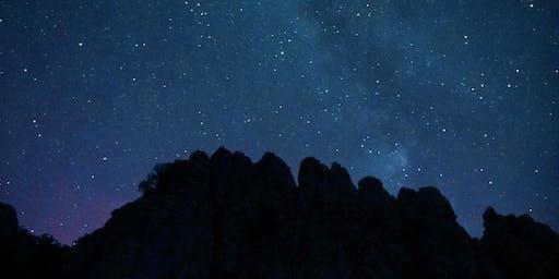 Observación en el Torcal:Las Perséidas, La Luna, Saturno y Júpiter