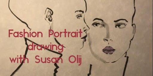 Fashion Portrait Drawing Workshop