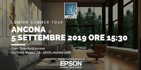 Presentazione Lumion Ancona tickets