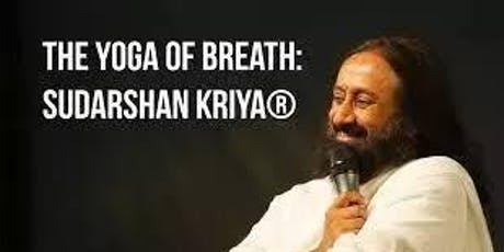 Art of Living Long Sudarshan Kriya Followup billets