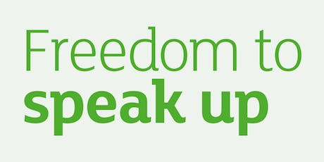 NHS Freedom to Speak session tickets