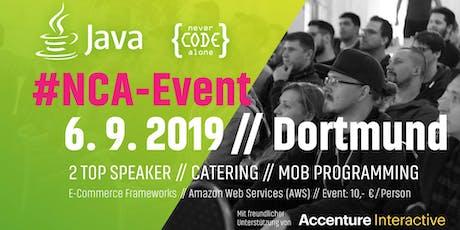 Accenture Interactive Java #NCAEvent Tickets