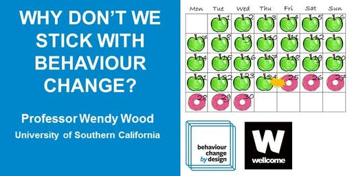 Behaviour Change by Design Annual Lecture 2019
