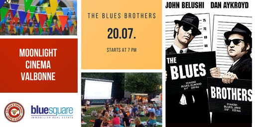 Moonlight Cinema Valbonne - The Blues Brothers