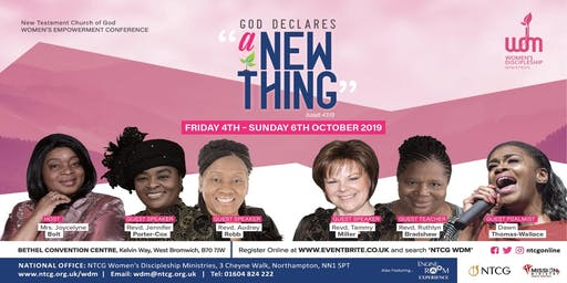 NTCG Women's Empowerment Conference 2019