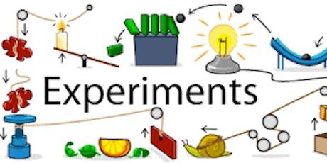 Excellent Experiments tickets