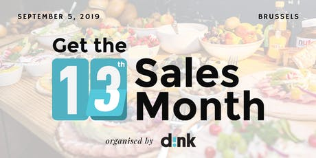 13th Sales Month Breakfast BXL - 2 tickets