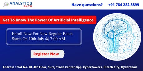 AI New Regular Batch  starts On 10th July By Experts From IIT & IIM tickets