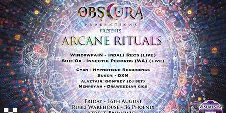 ARCANE RITUALS tickets