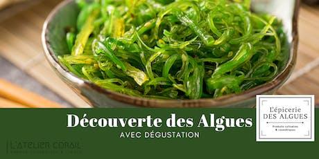 Découverte des algues, avec dégustation billets