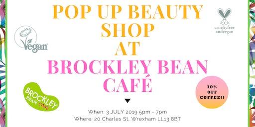 Tropic Skincare Pop Up at Brockley Bean Café