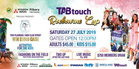 Roebourne Races 2019 | TAB Touch Roebourne Cup tickets