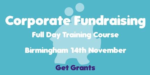 Corporate Fundraising Training Course