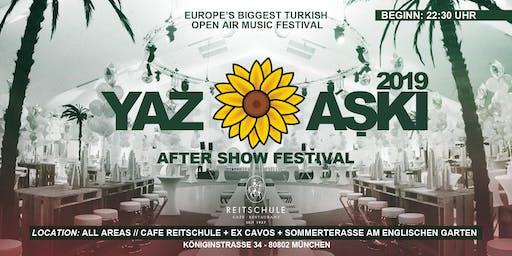 YAZ ASKI Aftershowfestival
