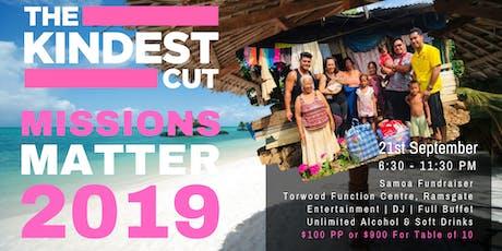 Missions Matter 2019 Fundraiser tickets