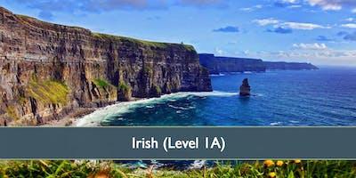 Irish (Level 1A) - October 2019