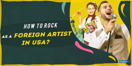 How To Get Recognized As An Artist In USA tickets