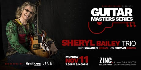 Guitar Masters Series: Sheryl Bailey tickets