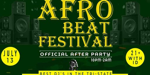 AfroBeats Festival After Party